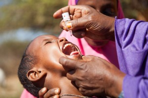 Polio Vaccination - World Polio Day 2014. Credit: UNICEF Ethiopia