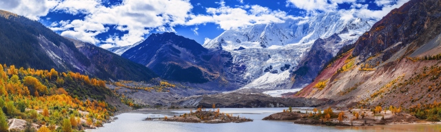 Glacier of Tibet (Full View)